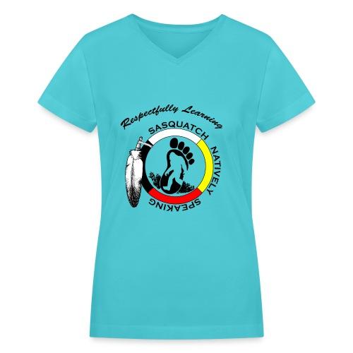 S.N.S. Womans V necked shirt - Women's V-Neck T-Shirt