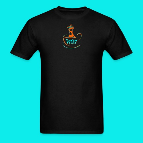 Perk's Logo Tee - Men's T-Shirt