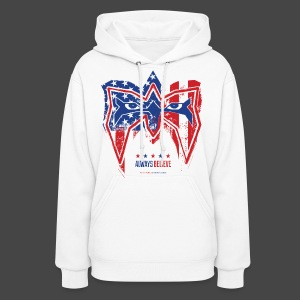 Ultimate Warrior Stars & Stripes Women's Hoodie - Women's Hoodie