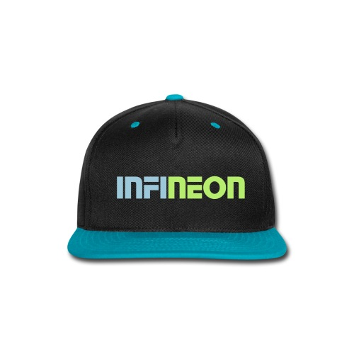infineon hat neon green - Snap-back Baseball Cap