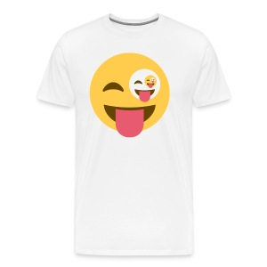 Laugh Wink Repeat - Men's Premium T-Shirt
