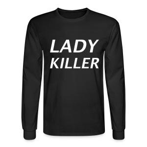 Lady Killer Shirt - Men's Long Sleeve T-Shirt