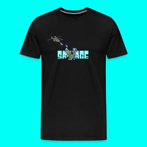 SAVAGE T SHIRT - Men's Premium T-Shirt