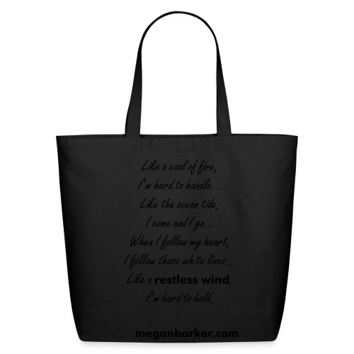 Restless Wind Tote Bag - Eco-Friendly Cotton Tote