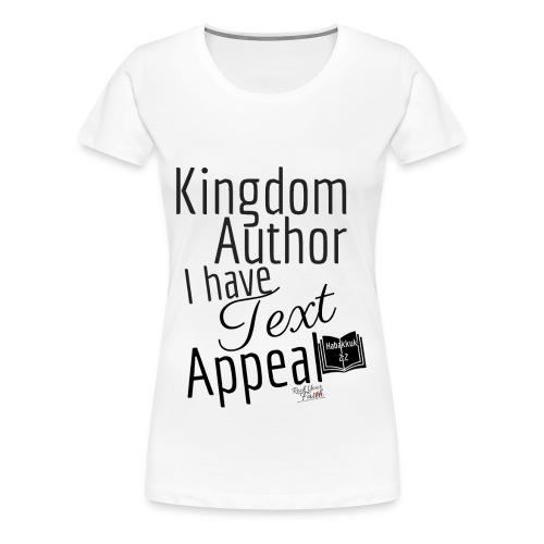 Kingdom Author Ladies Plus T-Shirt - Women's Premium T-Shirt