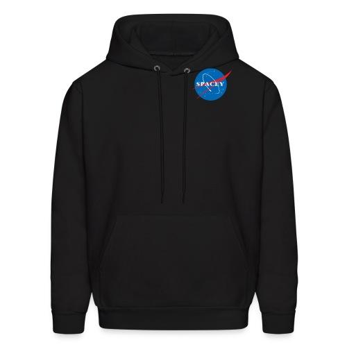 SPACEY NASA HOODIE - BLK - Men's Hoodie