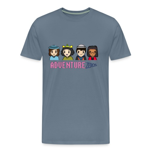 Adventure Zeros + Character shirt (M) - Men's Premium T-Shirt