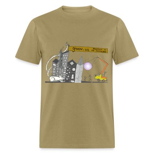 Groovus Disco Tee - Men's T-Shirt