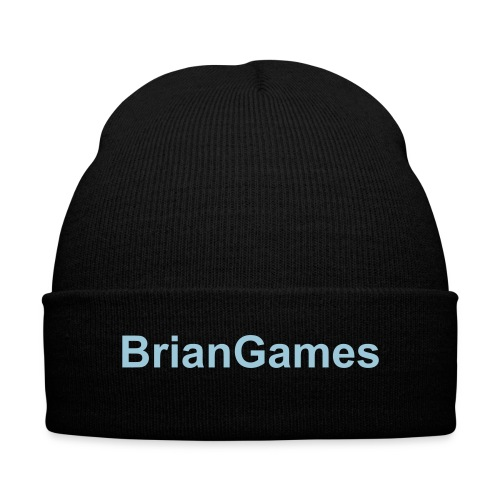 BrianGames - Knit Beanie - Knit Cap with Cuff Print