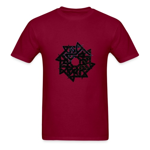 Hadron Men's Tshirt (many colours BLACK PRINT) - Men's T-Shirt