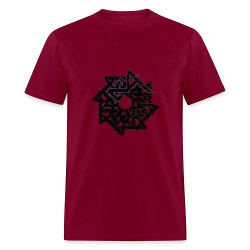 Hadron Men's Tshirt (many colours BLACK PRINT) - Men's T-Shirt