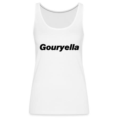 Gouryella Tanktop White - Women's Premium Tank Top