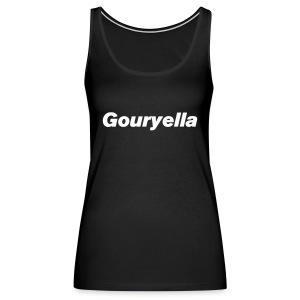Gouryella Tanktop Black - Women's Premium Tank Top