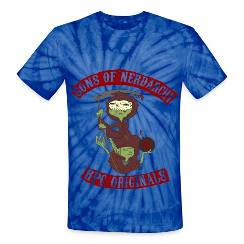 Goblin Grim Unisex Tie Dye T-Shirt - Unisex Tie Dye T-Shirt