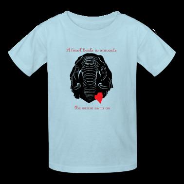 Kids Animal Welfare Elephent Shirt T Shirt Spreadshirt