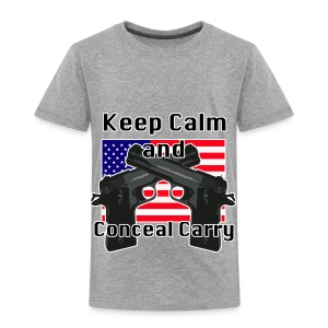 Conceal Carry Patriot - Toddler Premium T-Shirt