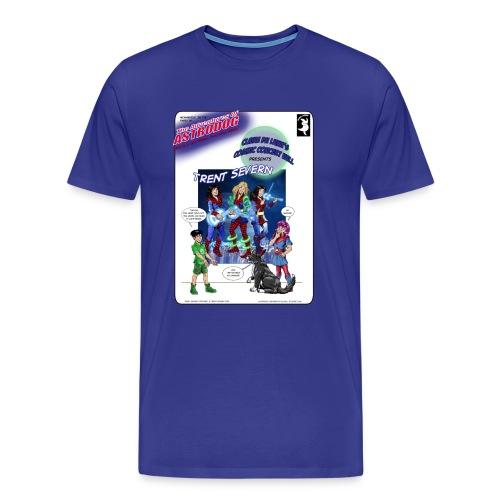 Astrodog meets Trent Severn - Men's Premium T-Shirt