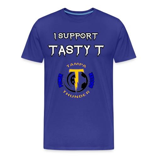 Tasty T Support Tee - Men's Premium T-Shirt