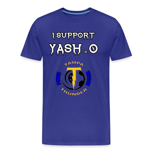 Yash.0 Support Tee - Men's Premium T-Shirt