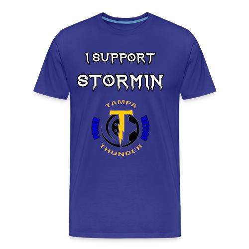 Stormin' Support Tee - Men's Premium T-Shirt