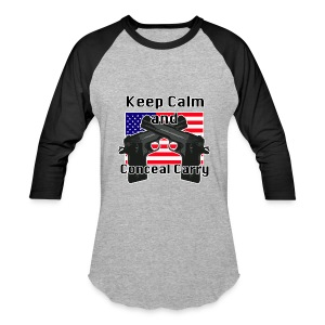 Conceal Carry Patriot - Baseball T-Shirt