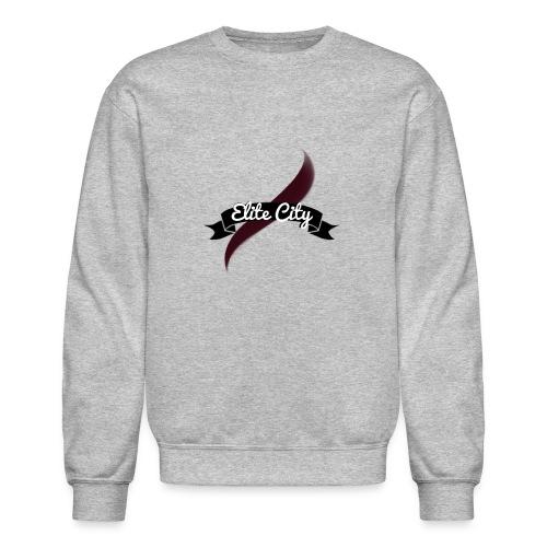(Maroon) Elite City Sweatshirt - Crewneck Sweatshirt
