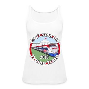 Trump train - Women's Premium Tank Top