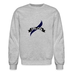 (Navy Blue) Elite City Sweatshirt - Crewneck Sweatshirt
