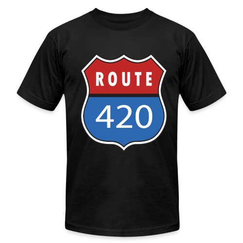 Route 420 - Men's Fine Jersey T-Shirt