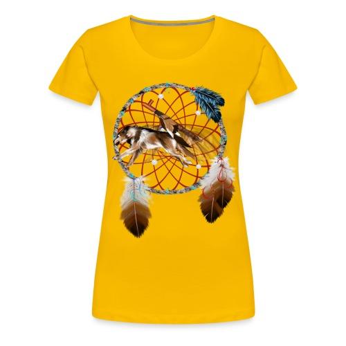 WOLF and PIPE - Women's Premium T-Shirt