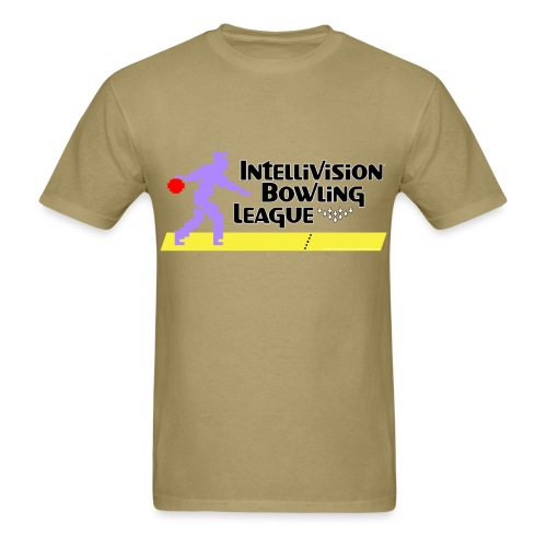 Intellivision Bowling League standard shirt - Men's T-Shirt