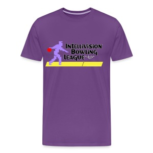 Intellivision Bowling League premium shirt - Men's Premium T-Shirt