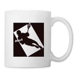 Attackman Lacrosse - Coffee/Tea Mug