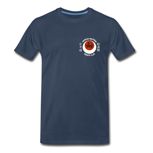 Mens Navy Tee Shirt - Men's Premium T-Shirt