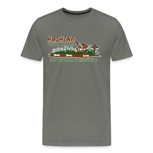 Hash running - Men's Premium T-Shirt
