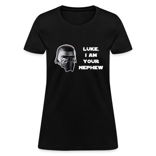 Luke/Nephew - white fill - Women Gildan - Women's T-Shirt