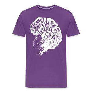 My Roots Show Purple - Men's Premium T-Shirt