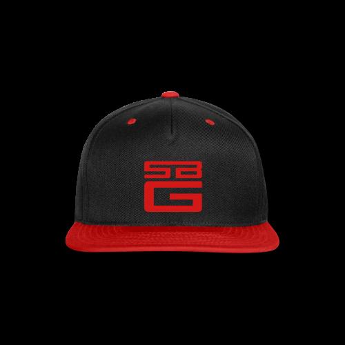 SBG Vermella Red Logo - Snap-back Baseball Cap