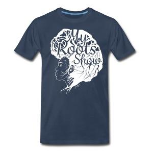 My Roots Show Navy Blue - Men's Premium T-Shirt