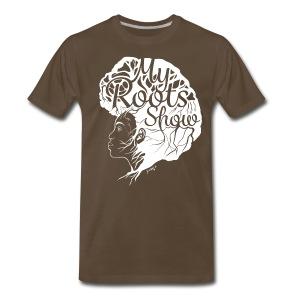 My Roots Show Brown - Men's Premium T-Shirt