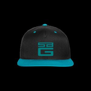 SBG Azul Blue Logo - Snap-back Baseball Cap