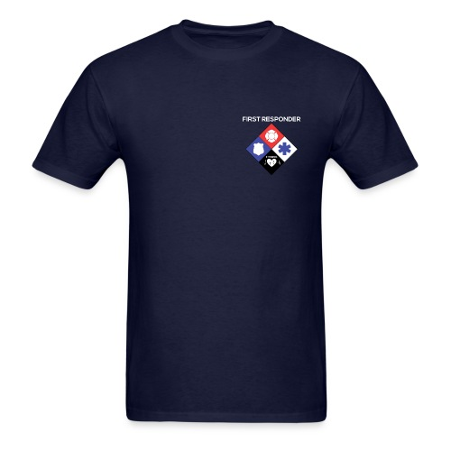 First Responder Fitness Tee - Men's T-Shirt