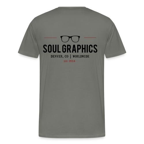 Men's Asphalt double-sided t-shirt - Men's Premium T-Shirt