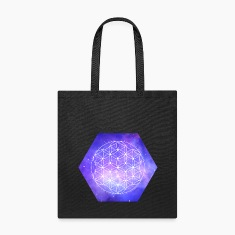 Flower Of Life Galaxy Bags & backpacks