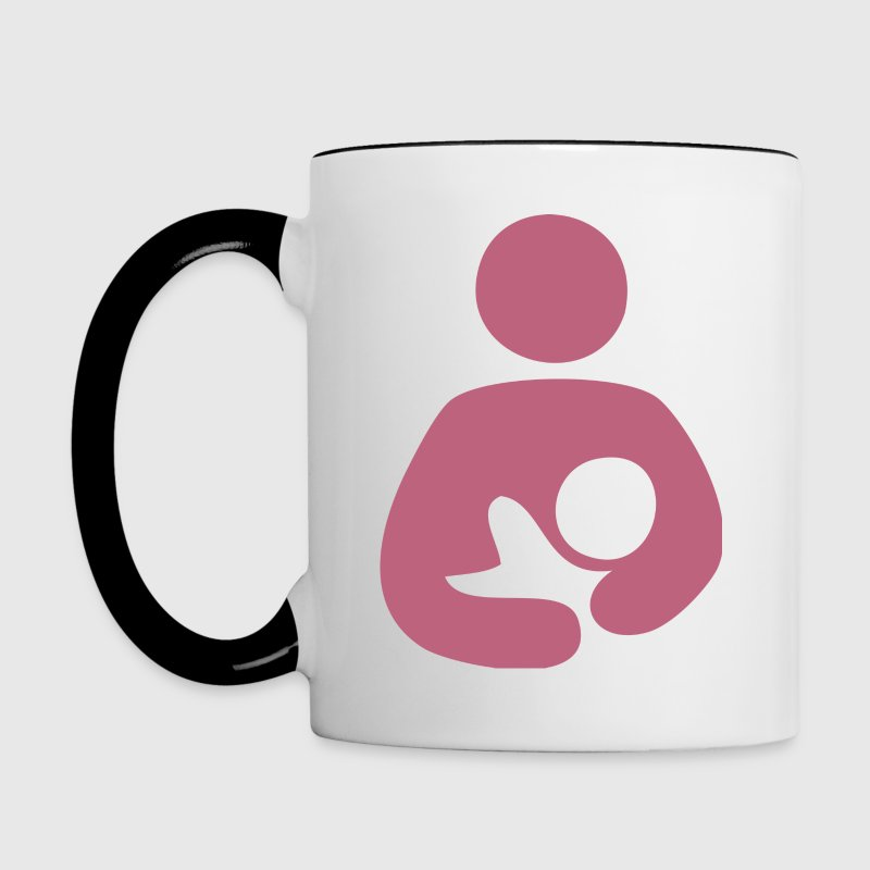 Breast is Best - Breastfeeding Mug - Contrast Coffee Mug
