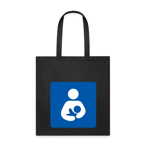 Breast is Best - Blue - Tote Bag - Tote Bag
