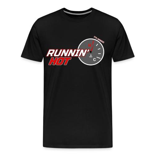 Runnin' Hot Podcast Logo Shirt - Men's Premium T-Shirt