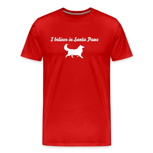 Santa Paws - Mens Big & tall T-shirt - Men's Premium T-Shirt
