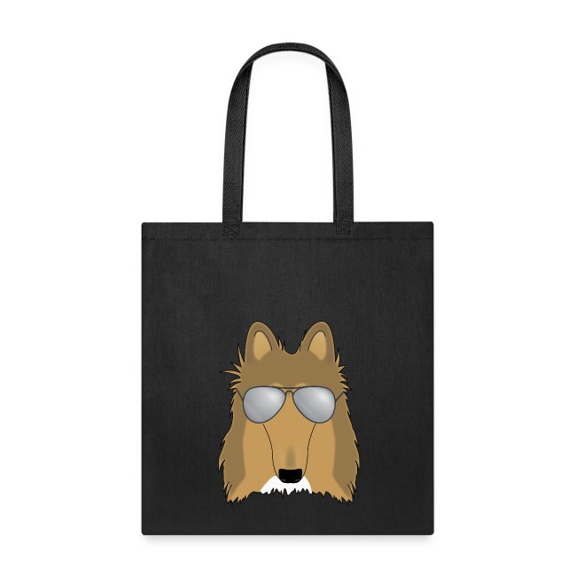 Cool Collie -Tote Bag