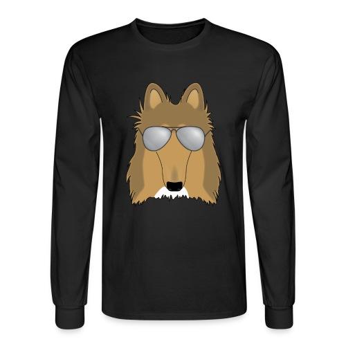 Cool Collie - Mens Long Sleeve  - Men's Long Sleeve T-Shirt